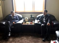 秘书长在河南新乡走访企业